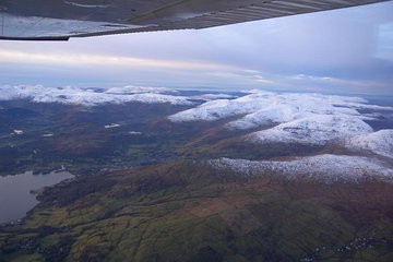 Discover Blackpool and Lake District from a Private Plane