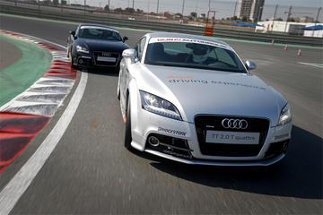 Driving Audi TT Experience from Dubai