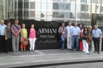 Dubai Full-Day Tour with Dinner at Armani Hotel and Burj Khalifa Entrance ticket