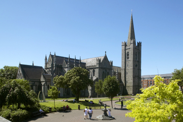 Dublin Castle Walking Tour Including Skip-the-Line St Patrick's Cathedral Visit