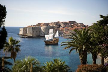 Dubrovnik Panoramic Sightseeing Cruise in a Traditional Karaka Replica