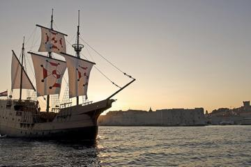 Dubrovnik Sunset Dinner Cruise in a Traditional Karaka Replica