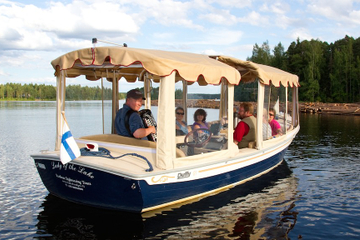 Ecoboat Sightseeing Cruise in Leppavirta