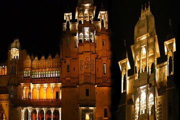 Evening Excursion: Historical Mewar Sound and Light Show from Udaipur including Dinner
