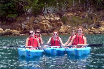Express Kayak and Snorkel Tour in St Thomas