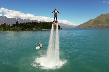 Extreme Flyboarding from Queenstown