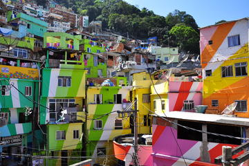 Favela Tour Experience and Meeting Locals from the Community
