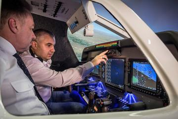 Flight Simulator Experience at Birmingham Airport