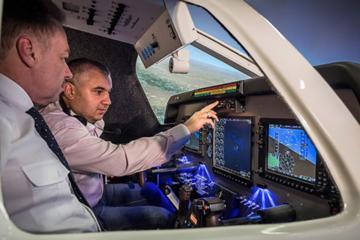 Flight Simulator Experience at Birmingham Airport
