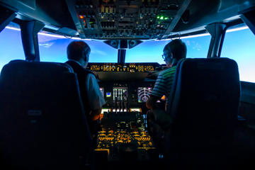 Fly a Real Jet Simulator Around the World at Coventry Airport