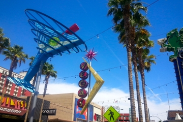 Fremont Street and Casino Center Walking Tour