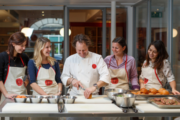 French Cooking Class at L'atelier des Chefs in Lyon