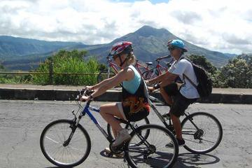 Full day Bali Adventure Including Volcano, Cycling and White Water Rafting