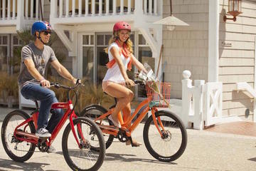 Full Day Electric Beach Cruiser Rental