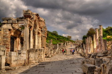 Full-Day Tour of Ephesus Ancitent City, House of Virgin Mary and Temple of Artemis from Kusadasi Port