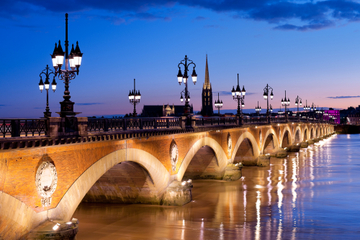 Garonne River Cruise Including Dinner from Bordeaux