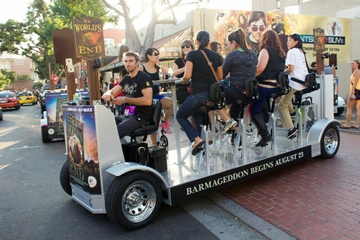 Gaslamp Quarter Party Bike Pub Crawl