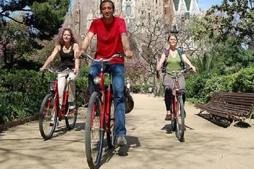 Gaudi Guided Bike Tour in Barcelona