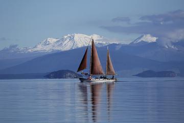 Great Lake Taupo Maori Rock Carvings Sail Trip
