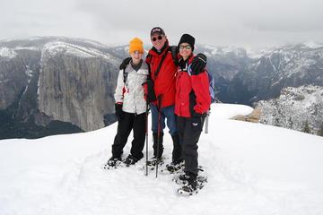 Guided Snowshoe Hike in Yosemite