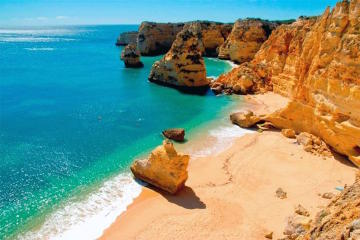 Half-Day Algarve Cabrio and Scooter Tour