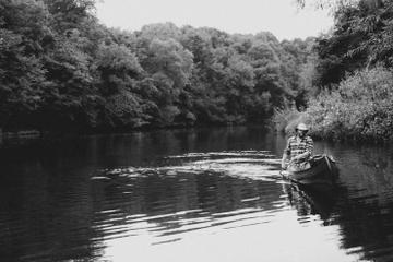 Half Day Canoe Hire on the Picturesque River Wye from Hay-On-Wye