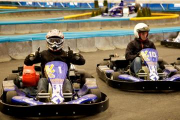 Half-Day Go-Kart Experience in Horni Pocernice from Prague