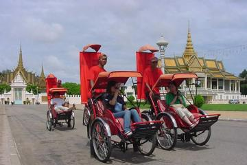 Half-Day Phnom Penh City Tour by Cyclo