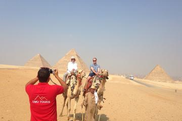 Half-Day Tour Visiting Giza Pyramids and Sphinx By Camel