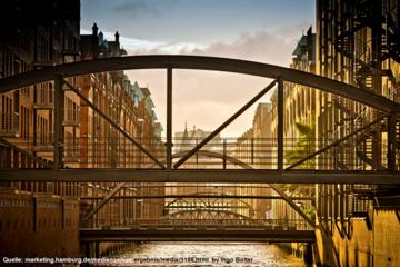 Hamburg UNESCO Speicherstadt and Kontorhaus-Quarter City Walking Tour