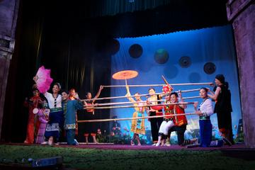 Hanoi Night Tour Including Night Show Ticket and Street Food