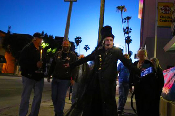 Haunted Hollywood Walking Tour