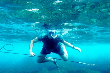 Hawaiian Spearfishing Experience with Beach Lunch