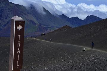 Hike at Haleakala: Elevation 10000 Feet and 11 Mile Challenge