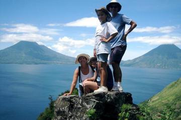 Hiking Around Lake Atitlán from Santa Cruz la Laguna to San Marcos