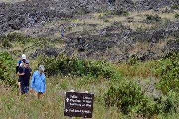 Hiking at Haleakala National Park 6 Mile Hike Challenge