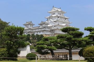 Himeji Castle, Koko-en Garden and Akashi Kaikyo Bridge from Kyoto