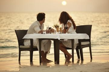 Honeymoon Beach Candlelit Dinner from St Thomas