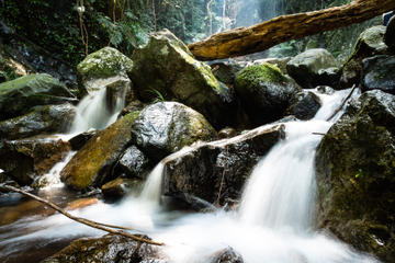 Hong Kong Hiking Tour in Tai Mo Shan with Waterfall Adventure
