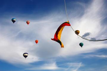 Hot Air Balloon Flight Over Vilnius Old Town