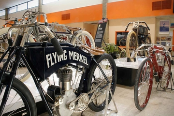 Hudson River Cruise and Motorcyclepedia Museum Tour with Brewery Lunch