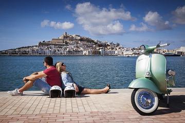 Ibiza Shore Excursion: Countryside and San Antonio Bay Tour by Vintage Vespa