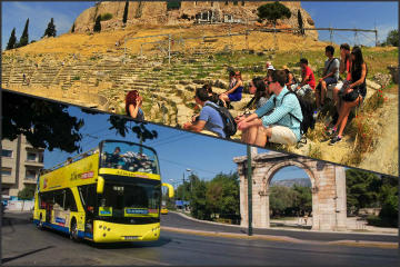 Just Acropolis Tour and Athens-Piraeus Get-on Get-off Bus Tour