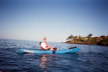 Kayak and Snorkel - South Shore Turtle