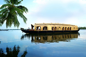 Kochi Shore Excursion : Private Kerala Backwater Houseboat Day Cruise