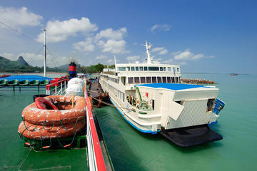 Koh Phangan to Bangkok by Big Ferry and VIP Coach