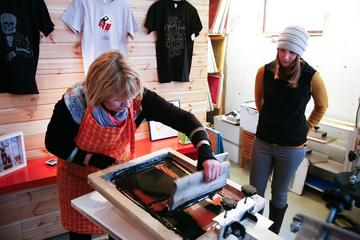 Kopavogur Screen-Print Technique Workshop