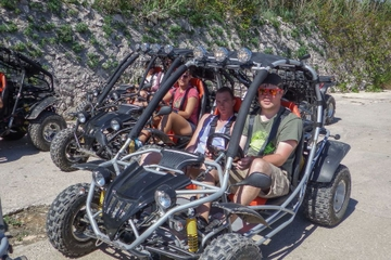 Korcula Island Buggy Tour and Snorkel Adventure Including Lunch