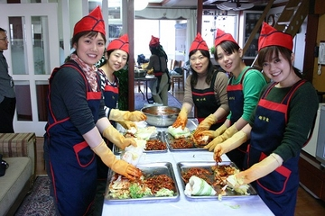 Korean Cultural Experience: Kimchi Making, Hanbok Wearing and Tea Ceremony