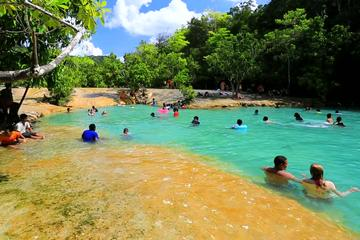 Krabi Jungle Tour Including Tiger Cave Temple, Crystal Pool and Krabi Hot Spring